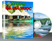 G003 – TRANH 3D & ĐÁ GIẢ NGỌC Vol.3 (410 MẪU)