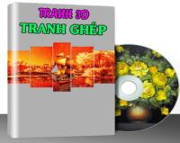 K001 – TRANH TƯỜNG VOL.1 (3.700 MẪU)