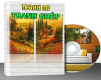 K005 – TRANH TƯỜNG, TRANH GHÉP – VOL.5 (~ 2000 MẪU)