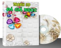 G013 – TRANH 3D & ĐÁ GIẢ NGỌC VOL.13 (453 MẪU)