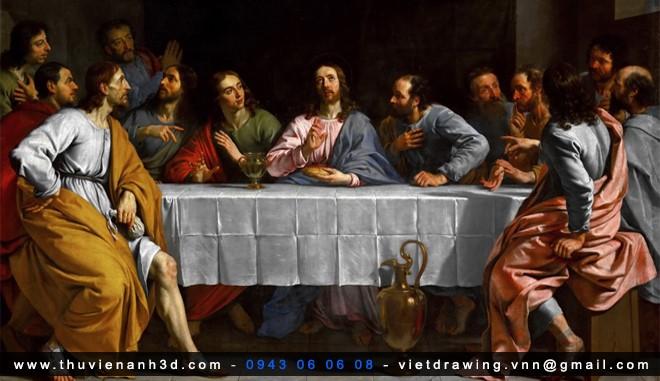 T006 – TRANH SƠN DẦU BẢO TÀNG LOUVRE PHÁP (65.8G )